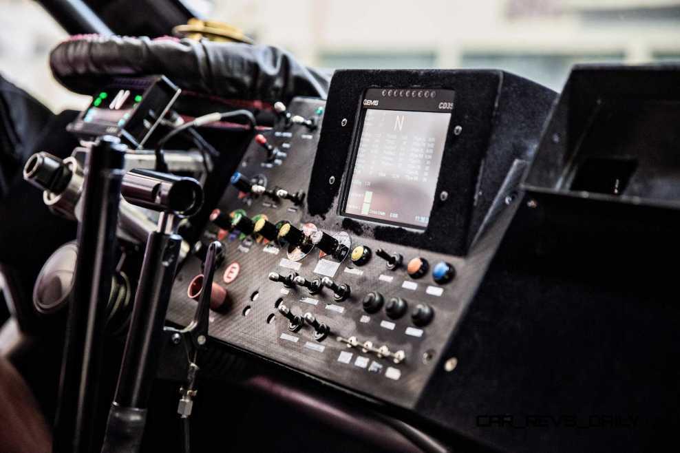 The Peugeot 2008 DKR in Peugeot Sport Workshop, Velizy-Villacoub