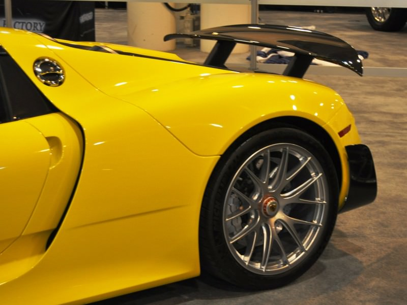 2015 Porsche 918 Spyder Weissach Package with XPEL Paint Protection 21