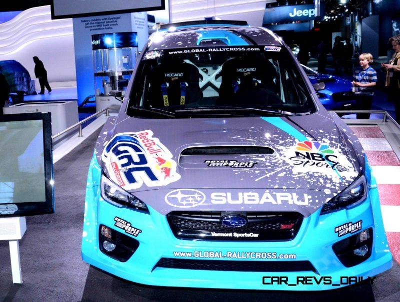 2015 Subaru WRX STi Rally Racecars 35