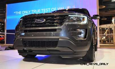 2016 Ford Explorer Sport 16