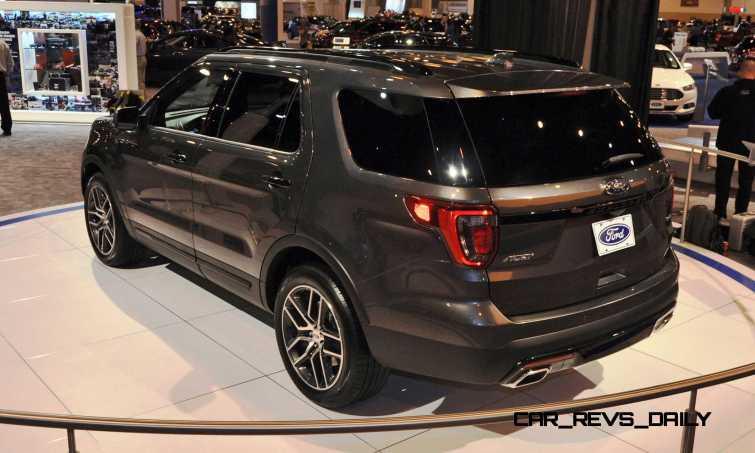 2016 Ford Explorer Sport 25