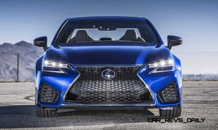 2016 Lexus GS F 3