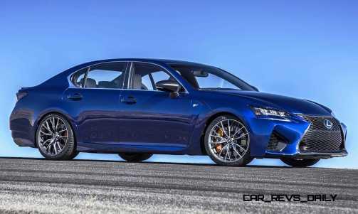 2016 Lexus GS F 5