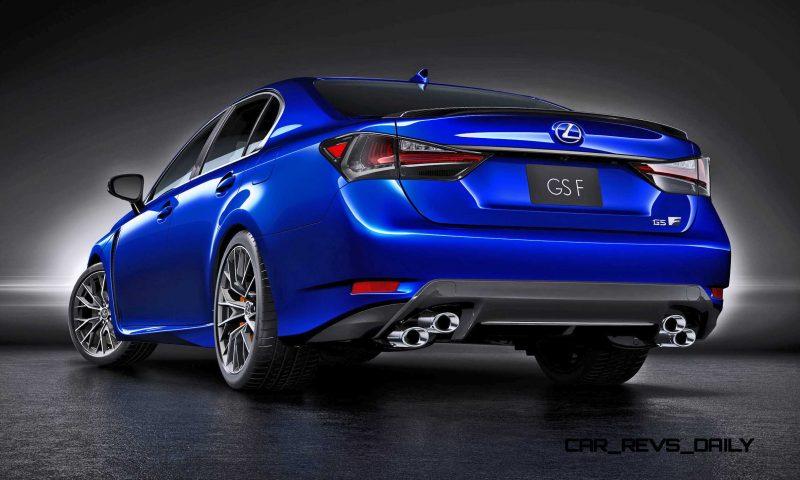2016 Lexus GSF 3