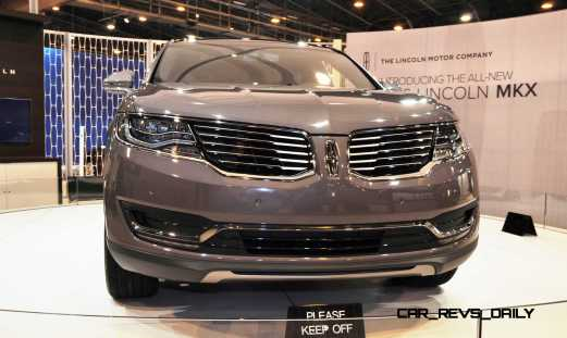 2016 Lincoln MKX 11