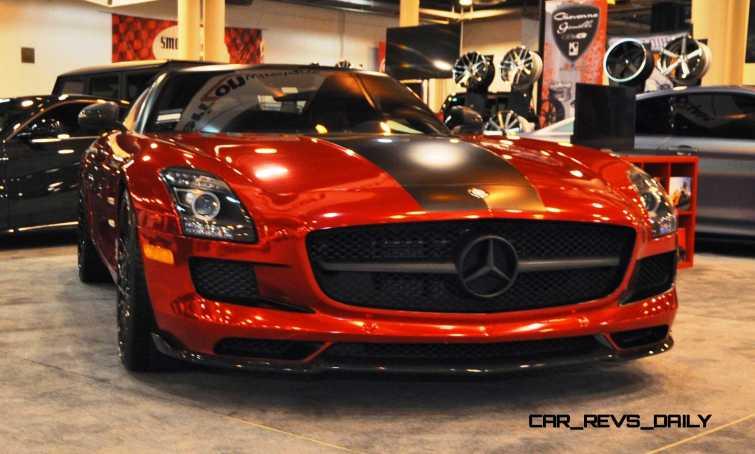AMG SLS Roadster by IKON Wraps 11