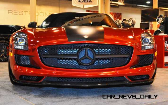 AMG SLS Roadster by IKON Wraps 15
