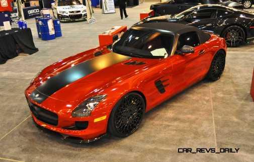 AMG SLS Roadster by IKON Wraps 4