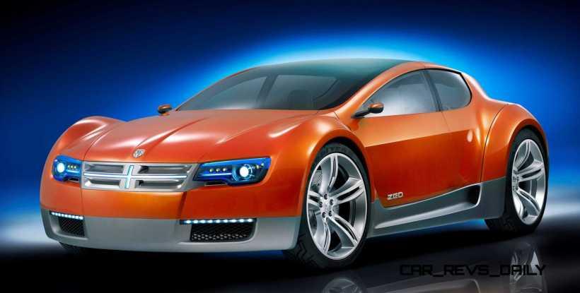 Concept Flashback - 2008 Dodge ZEO 3