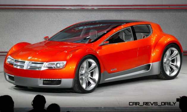 2008 Dodge ZEO Concept World Debut Detroit - January 14, 2008 -