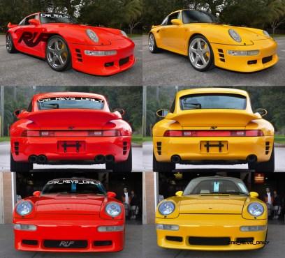 Fantasy Supercar Renderings - RUF Porsche 993 Turbo RS 1-tile