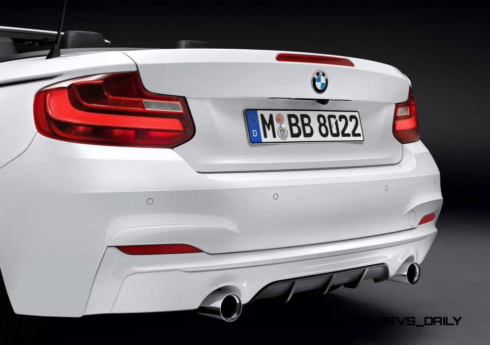 M Performance Parts for the BMW 2 Series Convertible 6