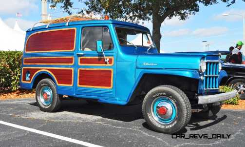 Mecum 2015 Florida Faves - 1962 Willys JEEP Utility Wagon 12