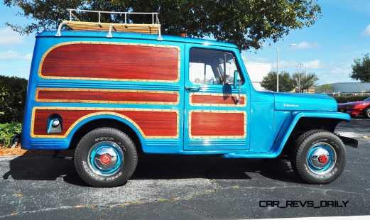 Mecum 2015 Florida Faves - 1962 Willys JEEP Utility Wagon 16