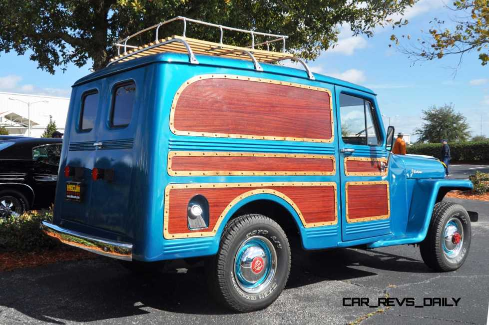 Mecum 2015 Florida Faves - 1962 Willys JEEP Utility Wagon 19