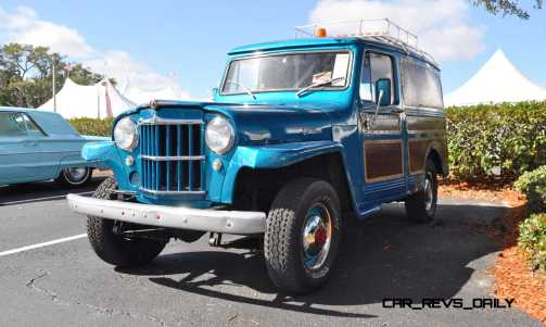 Mecum 2015 Florida Faves - 1962 Willys JEEP Utility Wagon 2
