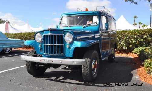 Mecum 2015 Florida Faves - 1962 Willys JEEP Utility Wagon 3