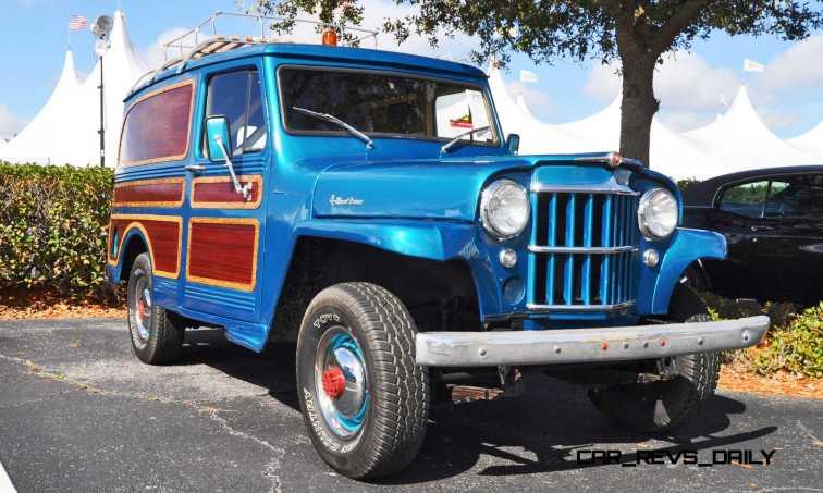 Mecum 2015 Florida Faves - 1962 Willys JEEP Utility Wagon 9