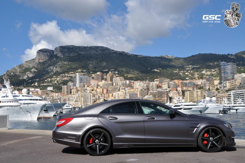 Mercedes-Benz CLS by German Special Customs 44