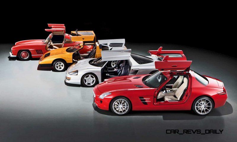Mercedes-Benz Gullwing Supercar Evolution 10 copy