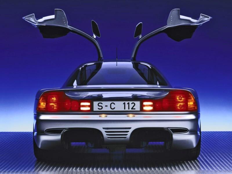 Mercedes-Benz Gullwing Supercar Evolution 45 copy