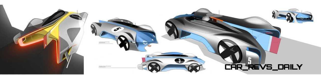 Renault ALPINE Vision Gran Turismo 10