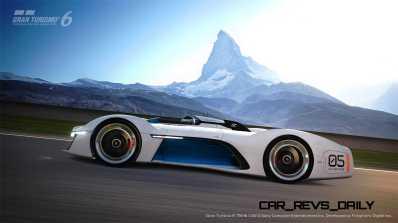 Renault ALPINE Vision Gran Turismo 35