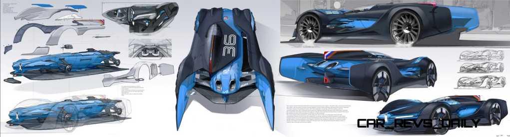 Renault ALPINE Vision Gran Turismo 45