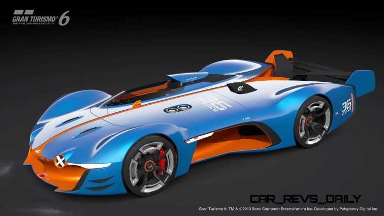 Renault ALPINE Vision Gran Turismo 50