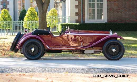 1931 Alfa Romeo 6C 1750 Gran Sport Spider by Zagato 5