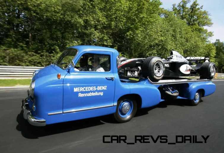1954 Mercedes-Benz 'Blue Wonder' Race Transporter 18