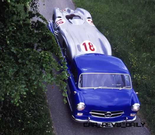 1954 Mercedes-Benz 'Blue Wonder' Race Transporter 36
