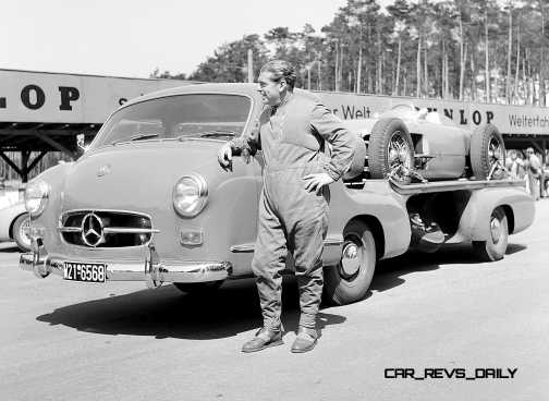 1954 Mercedes-Benz 'Blue Wonder' Race Transporter 50