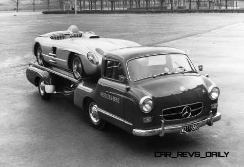 1954 Mercedes-Benz 'Blue Wonder' Race Transporter 57