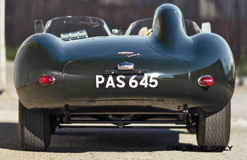 1955 Jaguar D-Type Twin-Cowl 17