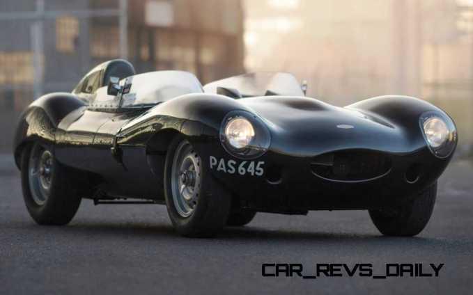 1955 Jaguar D-Type Twin-Cowl 2