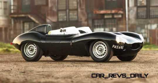 1955 Jaguar D-Type Twin-Cowl 6