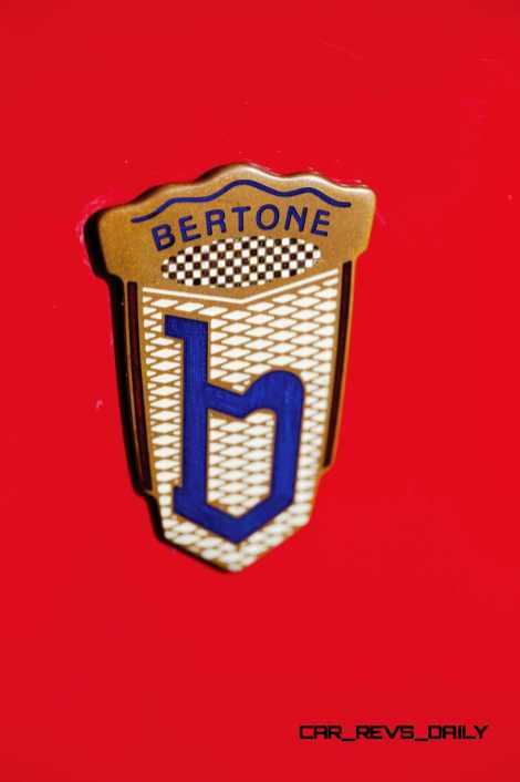 1956 Arnolt-Bristol Deluxe Roadster by Bertone 11