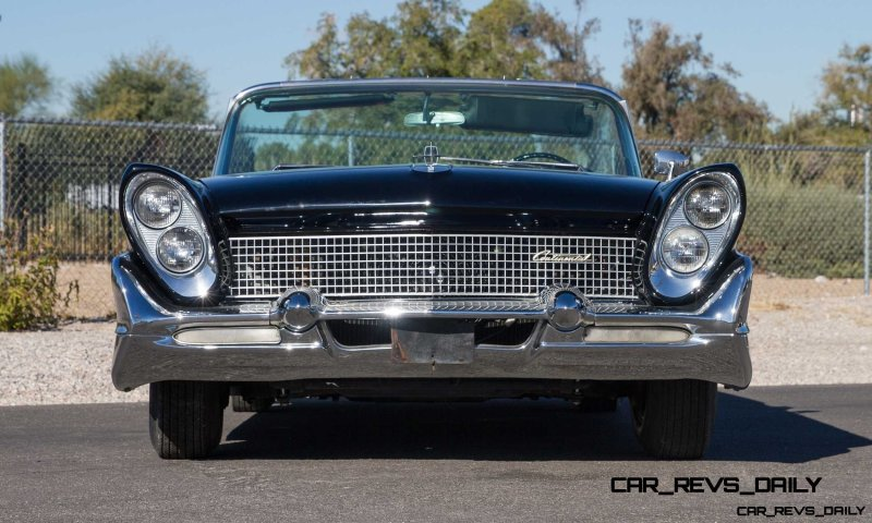 1958 Lincoln Continental Mark III Convertible  3