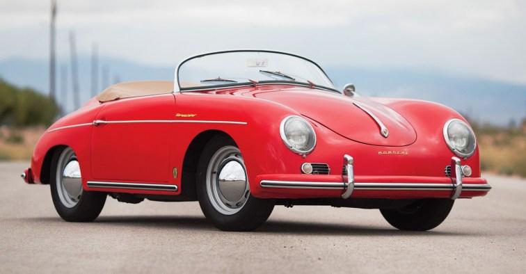 1958 Porsche 356A 1600 Speedster by Reutter 1