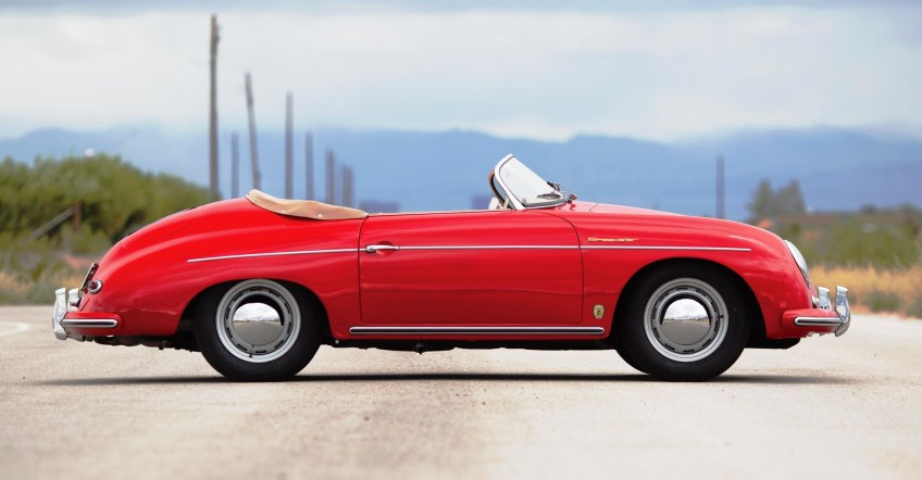 1958 Porsche 356A 1600 Speedster by Reutter 5