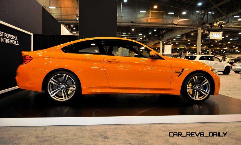 2015 BMW M4 Fire Orange 3
