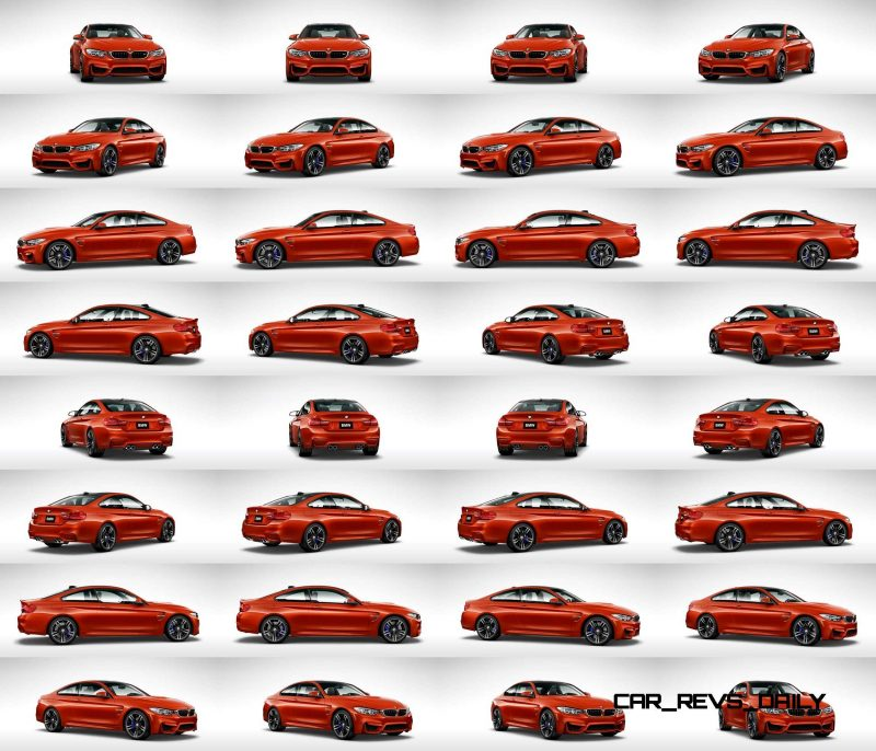 2015 BMW M4 Sakhir Orange 1