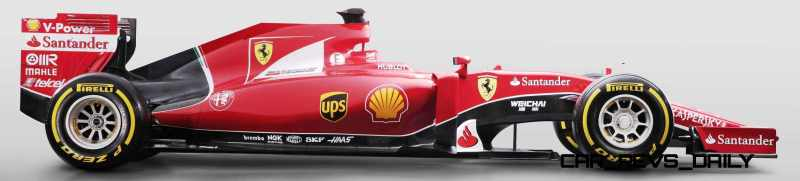 2015 F1 Cars Comparo - Infiniti RB11 vs McLaren-Honda MP4-30 vs AMG W06 vs Ferrari SF15T 15