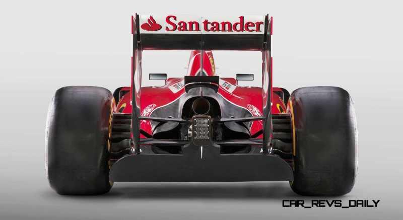 2015 F1 Cars Comparo - Infiniti RB11 vs McLaren-Honda MP4-30 vs AMG W06 vs Ferrari SF15T 18