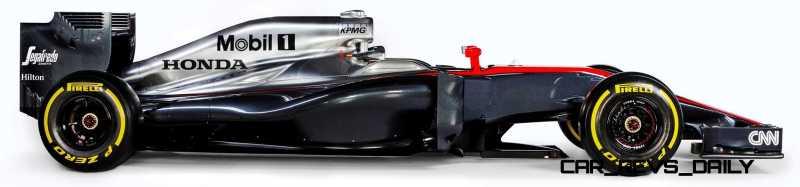 2015 F1 Cars Comparo - Infiniti RB11 vs McLaren-Honda MP4-30 vs AMG W06 vs Ferrari SF15T 28