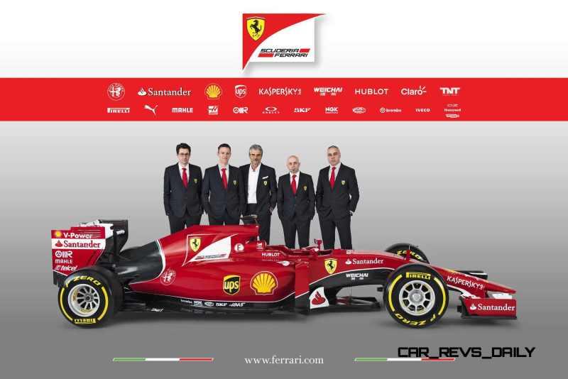 2015 F1 Cars Comparo - Infiniti RB11 vs McLaren-Honda MP4-30 vs AMG W06 vs Ferrari SF15T 4