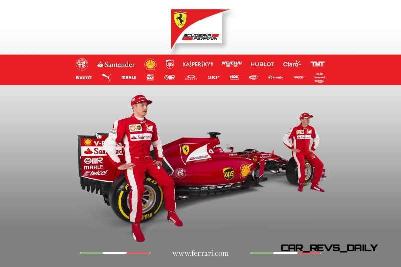 2015 F1 Cars Comparo - Infiniti RB11 vs McLaren-Honda MP4-30 vs AMG W06 vs Ferrari SF15T 6