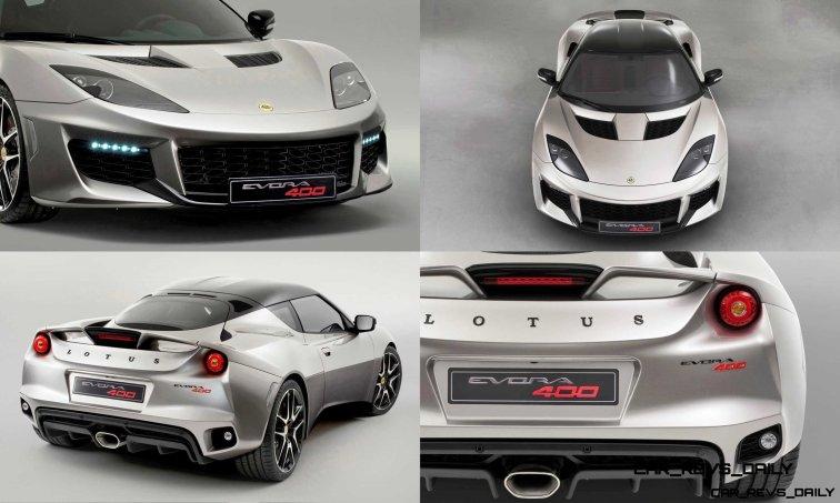 2016 Lotus Evora 400 3-tile
