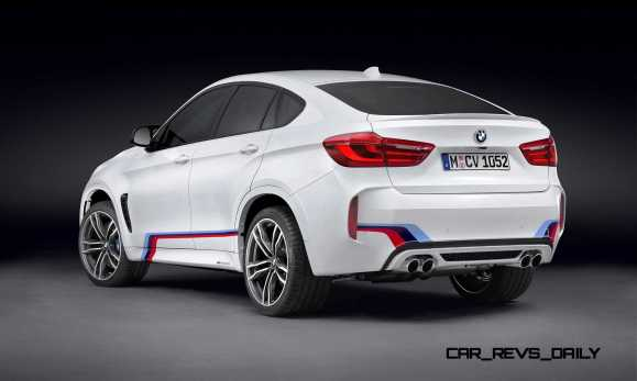 BMW M Performance Parts for 2015 X5M and X6M 12